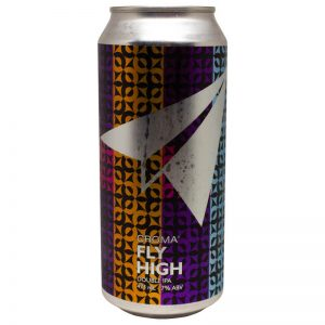 Cerveja Croma Fly High Double Rye IPA Lata 473 ml