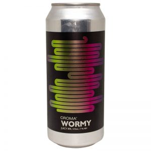 Cerveja Croma Wormy Juicy IPA lata 473ml