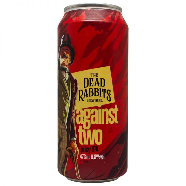 Cerveja The Dead Rabbits Against Two Juicy IPA Lata 473 ml