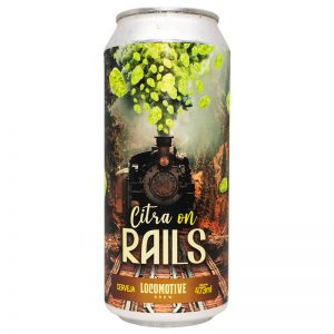Cerveja Locomotive Citra on Rails American IPA Lata 473 ml