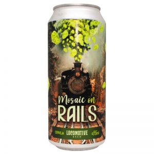 Cerveja Locomotive Mosaic on Rails American IPA Lata 473 ml