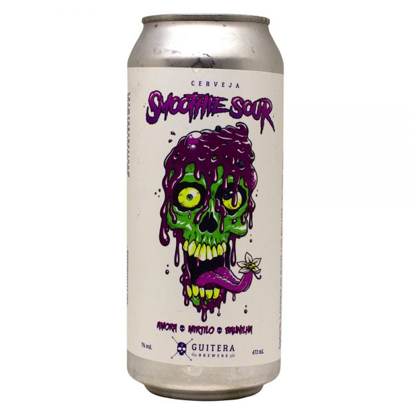 Cerveja Guitera Smoothie Sour Pastry Sour Lata 473 ml