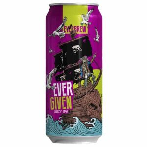 Cerveja Everbrew Ever Given Juicy IPA Lata 473 ml